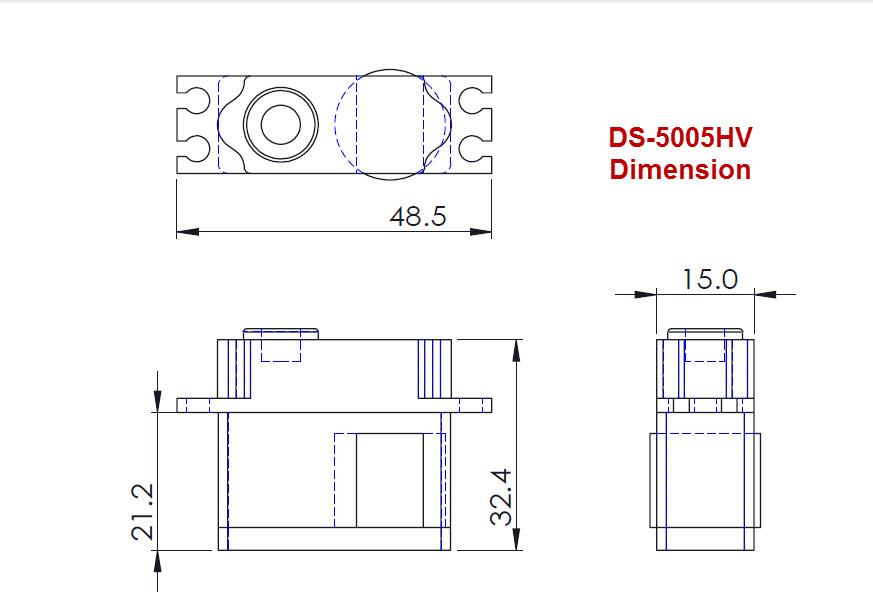 ds 5005hv bk mini midi size hv tail servo by bert kammerer. Black Bedroom Furniture Sets. Home Design Ideas